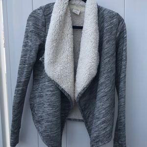 Abercrombie and Fitch Fleece Cardigan